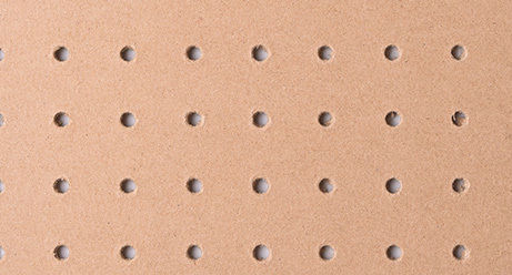 Lion Perforated Hardboard PEFC™ Certified Perforated Hardboard