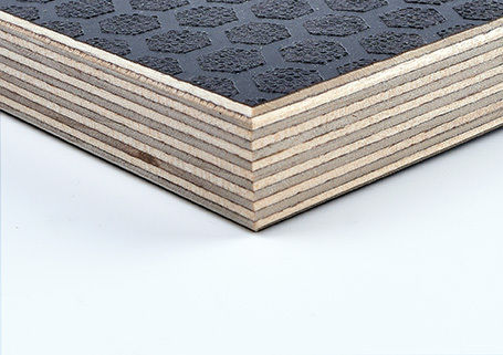 FSC® Certified WISA Hexa Grip 220Gm Dark Brown 120Gm Smooth Reverse Birch Plywood - EN314-2 Class 3. EN636-3. E1